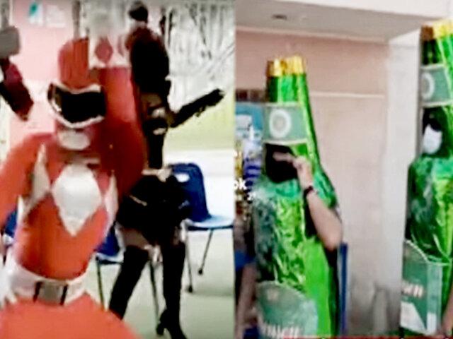 Vacunatón para menores de 25: bailes, alegría y mucho color en los centros de salud