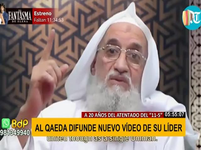 Al Qaeda difunde nuevo vídeo de su líder