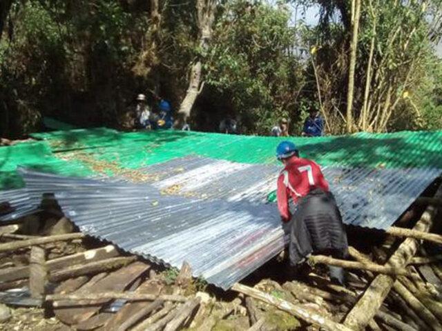 Cusco: construcciones clandestinas edificadas en parque arqueológico  fueron demolidas