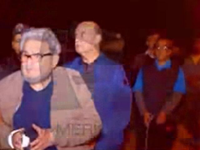 Últimas imágenes del terrorista Abimael Guzmán en la Base Naval