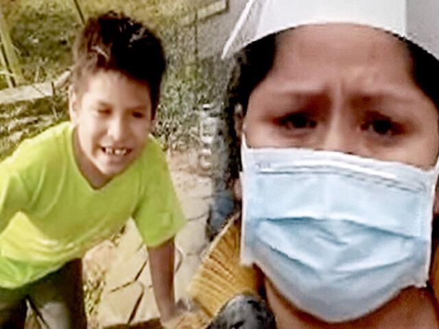 Extraña enfermedad aqueja a niño: madre desesperada pide ayuda a primera dama