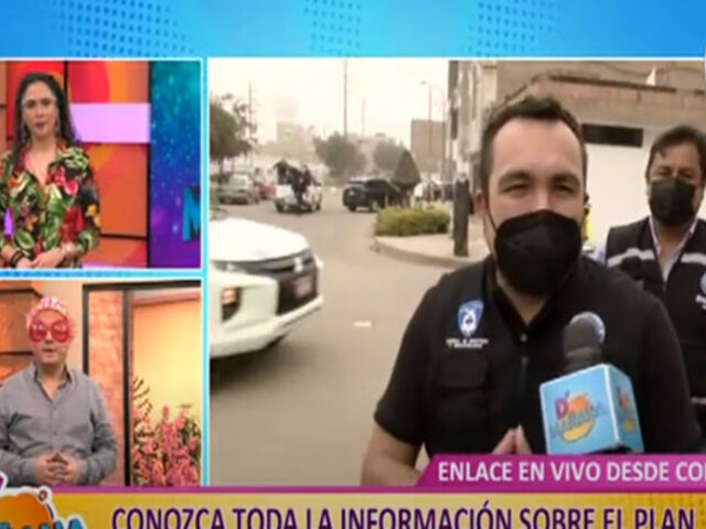 Municipio de Comas implementa novedoso plan para combatir la inseguridad ciudadana