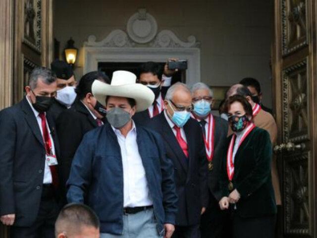 """Presidente Castillo a Perú Libre: """"Escuchemos a todos, dejemos escuchar a cada uno de nosotros"""""""