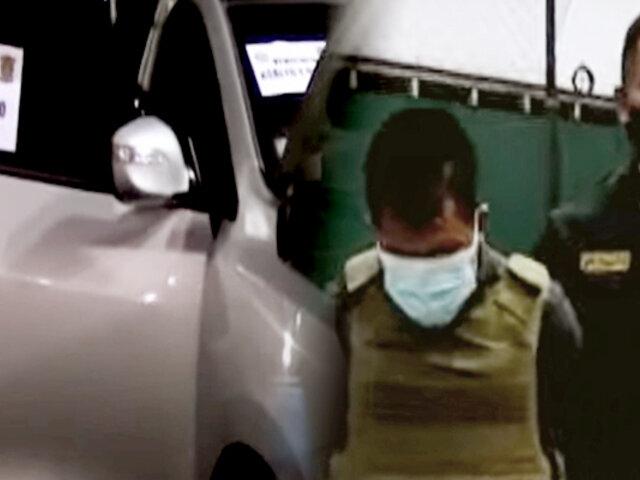 Capturan a sujeto que intentó vender una camioneta robada en Independencia