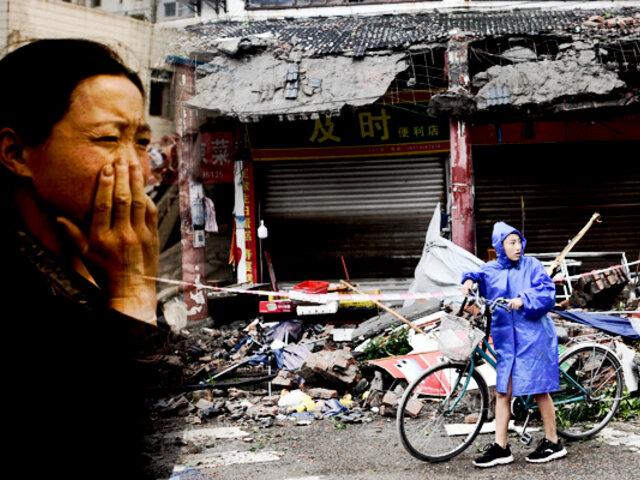 Terremoto de 6.0 grados en China deja tres fallecidos y 60 heridos