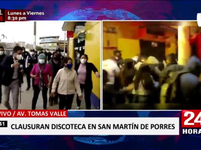 SMP: clausuran discoteca que era refugio de delincuentes en Tomás Valle
