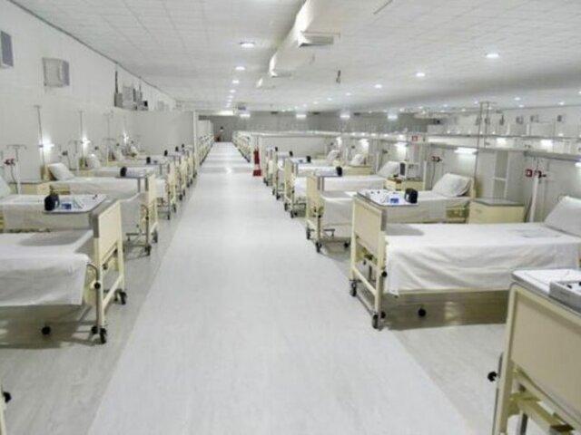 Loreto: cierran hospital temporal por falta de pacientes afectados por la Covid-19