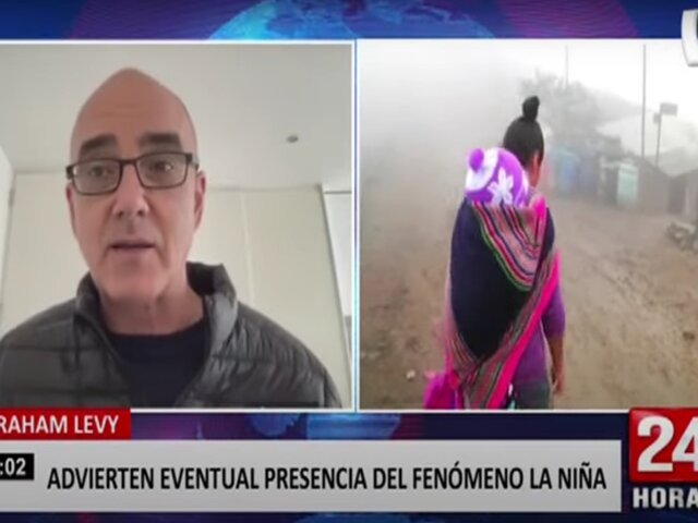 Meteorólogo advierte eventual presencia del fenómeno de La Niña