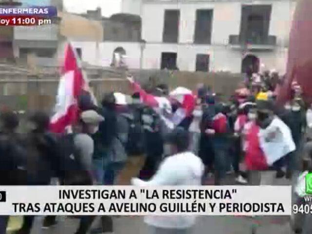 Mininter iniciará investigación contra la presunta organización criminal La Resistencia