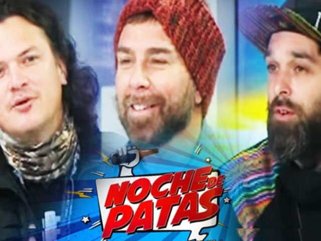 Noche de Patas estrenó programa en Panamericana Televisión