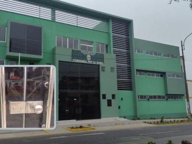 Trujillo: denuncian que comisaría inaugurada hace unos días por el ministro del Interior no funciona