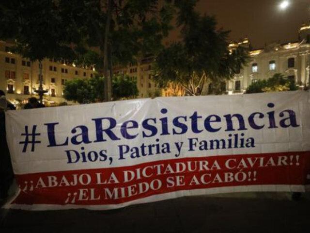 """Mininter sobre colectivo """"La Resistencia"""": en caso decida armarse, podría caer en el delito de terrorismo"""