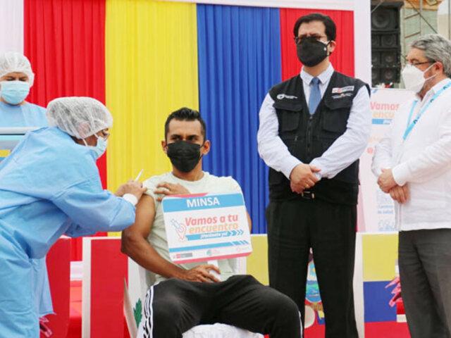 Unidos contra la Covid-19: Perú y Ecuador lanzan campaña binacional de vacunación