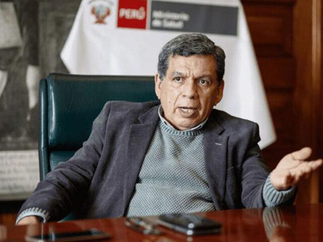 Ministro Cevallos: Se firmaron nuevos contratos por 63 millones de vacunas contra la Covid-19