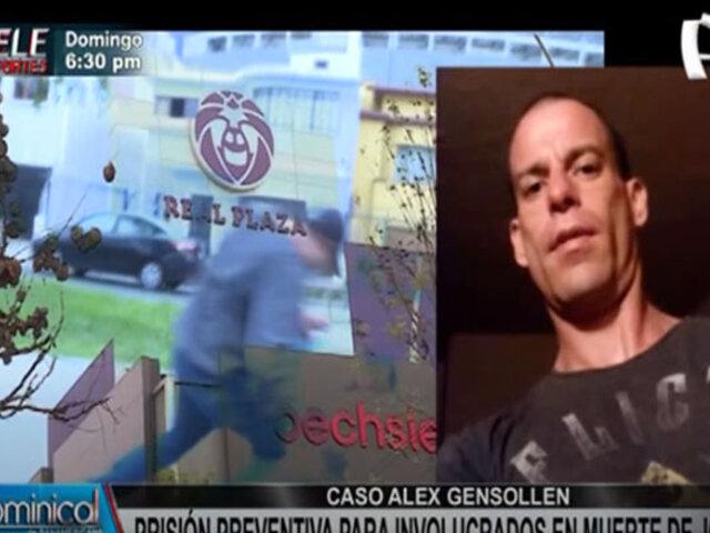 Dictan prisión preventiva para agentes involucrados en muerte de Alex Gensollen