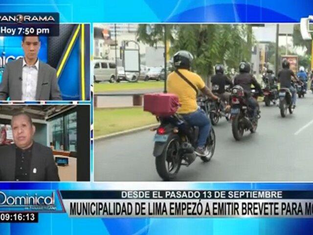 Brevetes para motos: ¿Cuáles son los requisitos que solicita la Municipalidad de Lima?