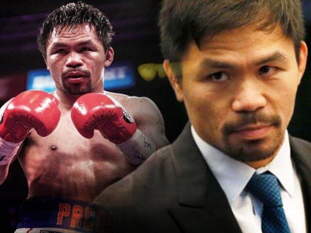 Manny Pacquiao competirá por la Presidencia de Filipinas