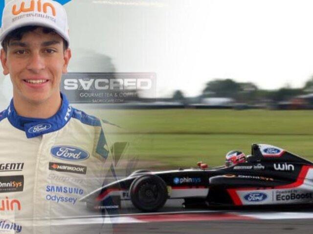 Automovilismo: Peruano Matias Zagazeta es líder de la Fórmula 4 británica