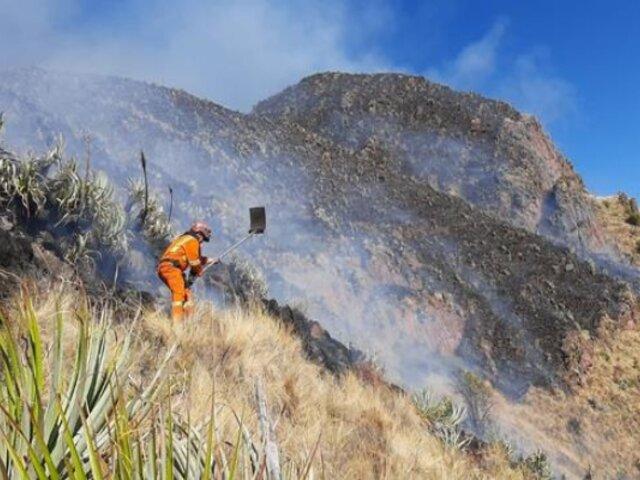 Cusco: trabajador municipal fallece en incendio forestal