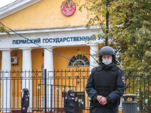 Rusia: tiroteo en universidad deja al menos 6  muertos y más de 20 heridos