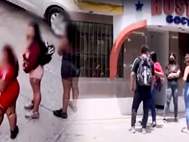 Prostitución crece en SJL: vecinos exigen a la municipalidad y PNP frenar este flagelo