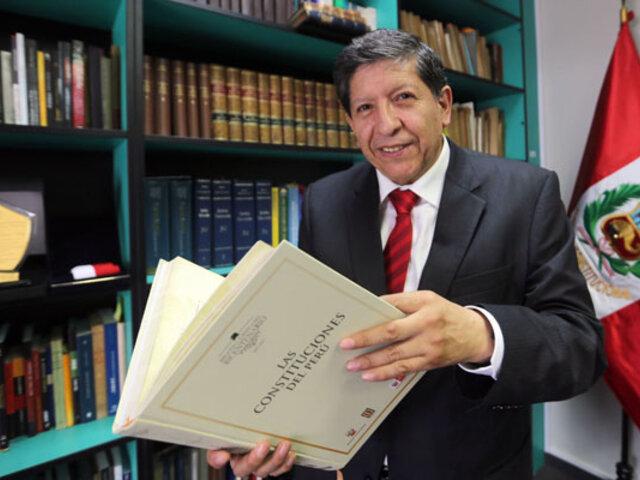 Murió a los 61 años Carlos Ramos Núñez, magistrado del Tribunal Constitucional