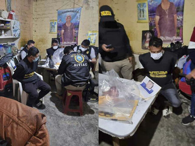 Piura: intervienen varias viviendas y capturan a integrantes de la banda 'Los despiadados de Talara'