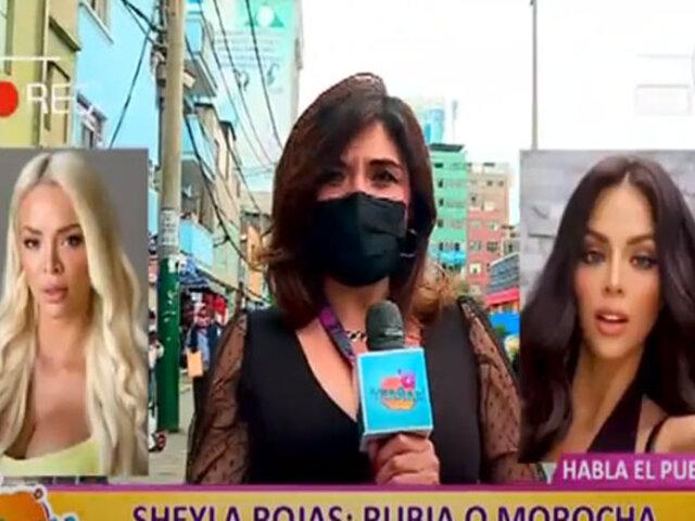 Picantitas del Espectáculo: limeños opinan sobre el look de Sheyla Rojas, rubia o morena
