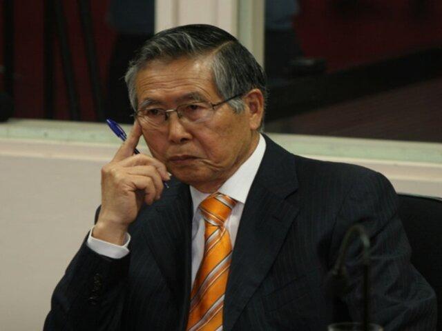 Poder Judicial: suspendió lectura de resolución de Alberto Fujimori sobre el caso de esterilizaciones forzadas
