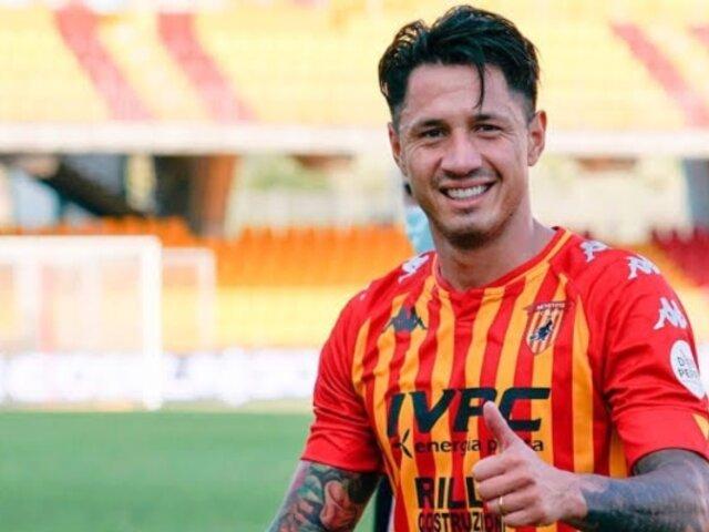 Gianluca Lapadula: DT de Benevento se pronuncia tras triplete del peruano en la Serie B