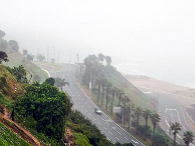 Lima: neblina y cielo cubierto se mantendrán durante primeras semanas de primavera