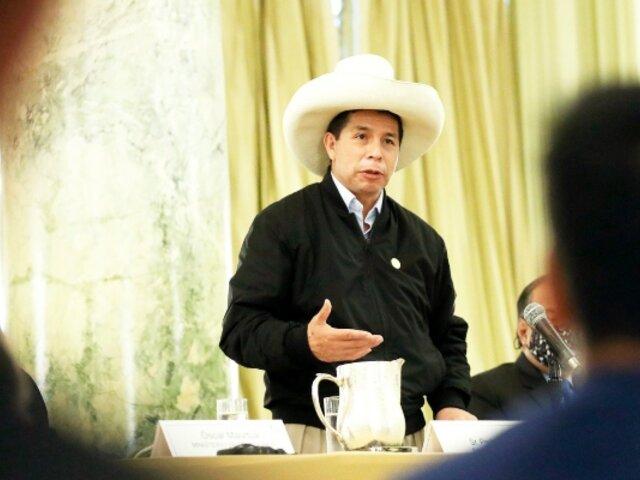 """Pedro Castillo ante la ONU: """"Mi gobierno declarará la emergencia climática nacional"""""""