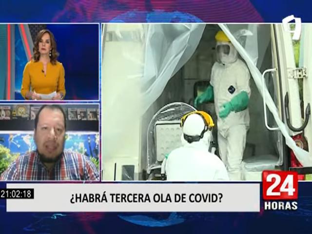 Covid-19: Médico especialista en Salud Pública habla sobre posible escenario ante una tercera ola