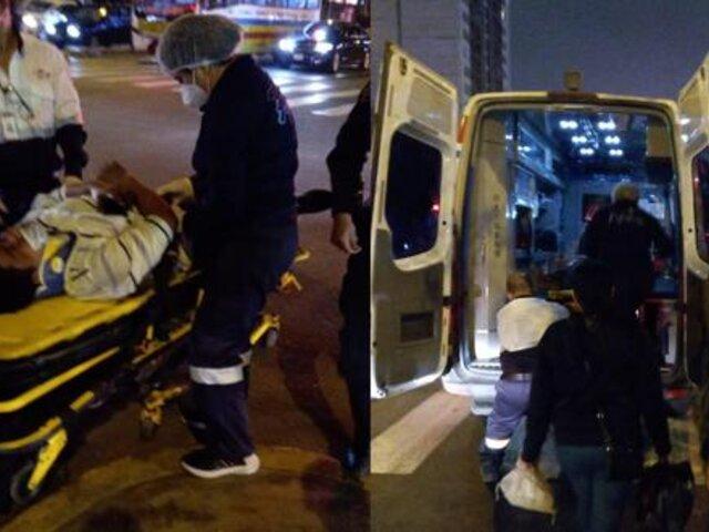 Jesús María: bus atropelló a ciclista en el cruce de las avenidas Brasil y Talara