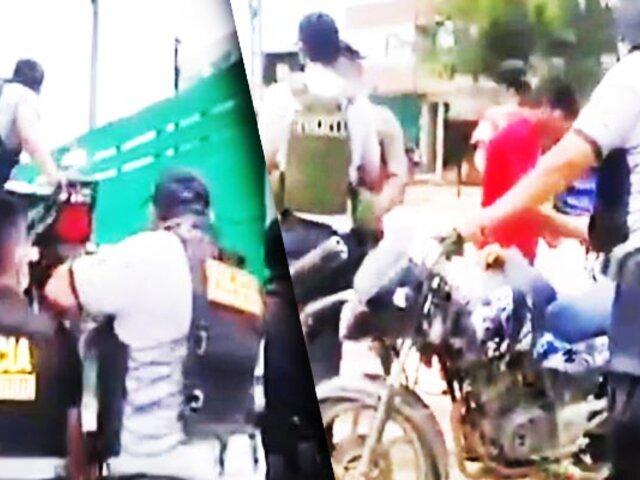 Puerto Maldonado: recuperan motos robadas en zona de minería ilegal