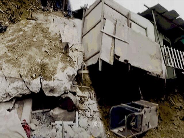 Puente Piedra: muro de contención colapsa y aplasta a madre e hijos