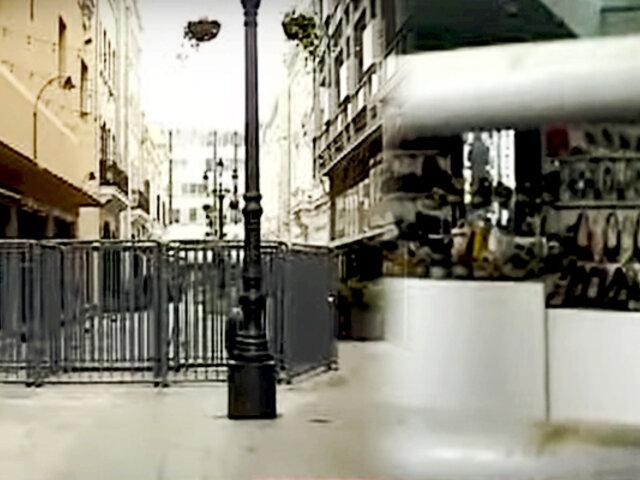 Plaza de Armas: empresarios en la quiebra por rejas en centro histórico