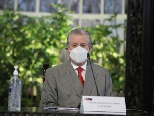 Óscar Maúrtua: Canciller será citado al Congreso por reunión entre Castillo y Maduro