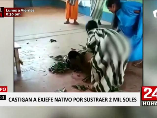 Satipo: castigan a exjefe de comunidad nativa tras denuncia de robo