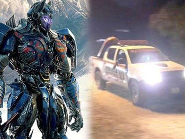 "Desmienten intento de robo a producción de ""Transformers"""