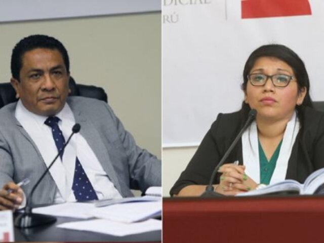 Jueces a cargo de casos de Odebrecht y Club de la Construcción renunciaron y fueron reemplazados