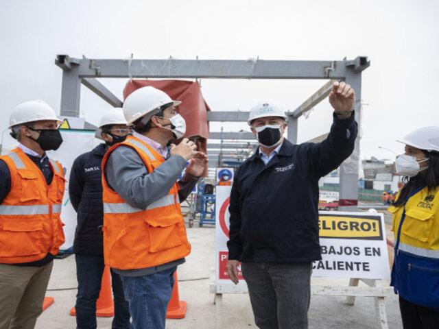 Alcalde de Lima: tenemos 10 obras viales priorizadas que serán entregadas el próximo año