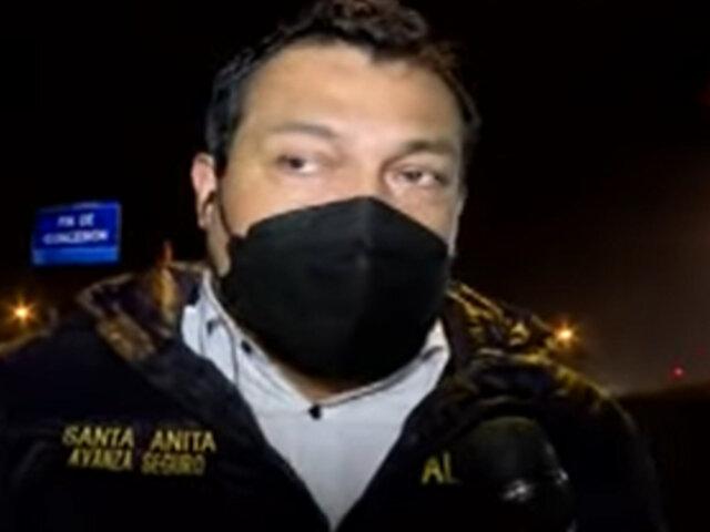 Alcalde de Santa Anita embistió con su camioneta a delincuente que intentó asaltar a una joven