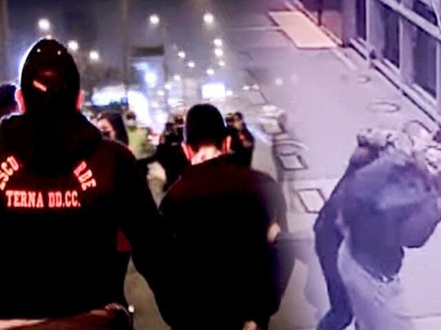 Independencia: capturan a delincuentes que robaban en estaciones del Metropolitano