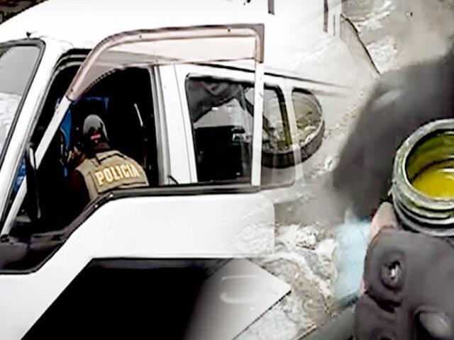 Independencia: Policía interviene tres combis informales reportadas como robadas
