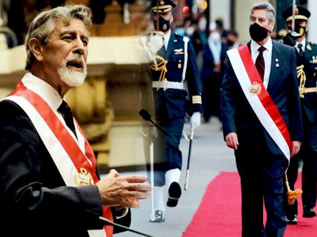 Francisco Sagasti envía oficio solicitando al Congreso pensión vitalicia como presidente