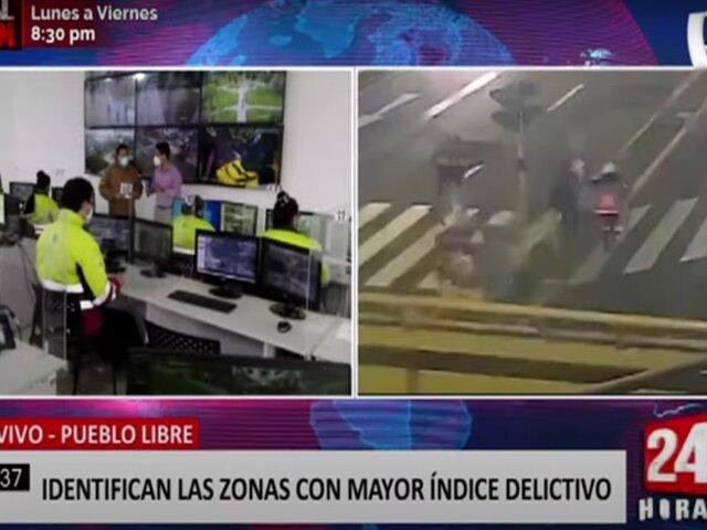 Pueblo Libre: serenazgo combate la delincuencia con cámaras y patrullaje articulado