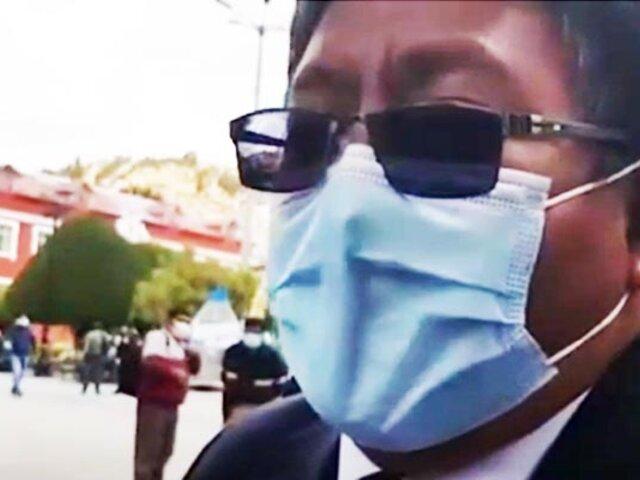 Puno: Periodista acusa a congresista de AP de querer sobornarlo