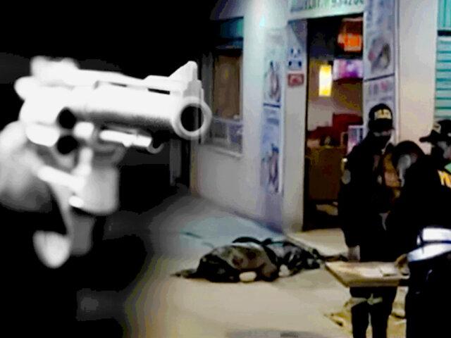 SJL: asesinan a balazos a padre de familia cuando cenaba en pollería