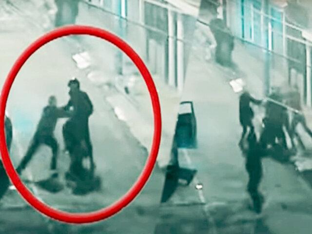 Vecinos frustran asalto de raqueteros que robaban bajo modalidad del 'portonazo'